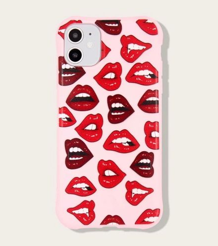 Boutique Red Lips iPhone Case