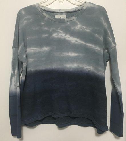 Blue Tie Dye Sweatshirt