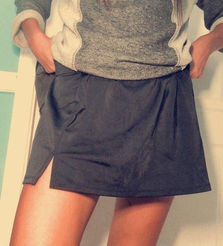 American Vintage Black Tennis Skirt