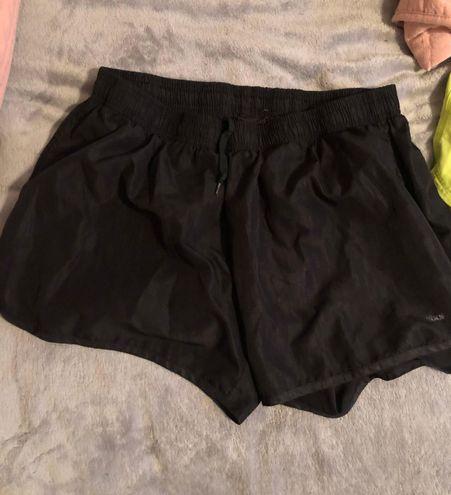 Reebok black rebook running shorts