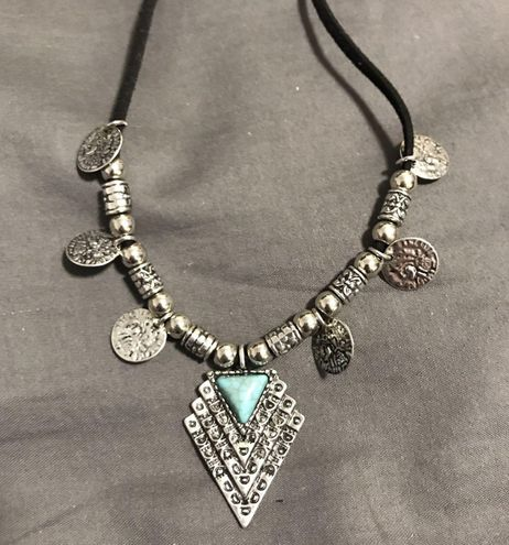 Urban Outfitters Featival boho coin necklace