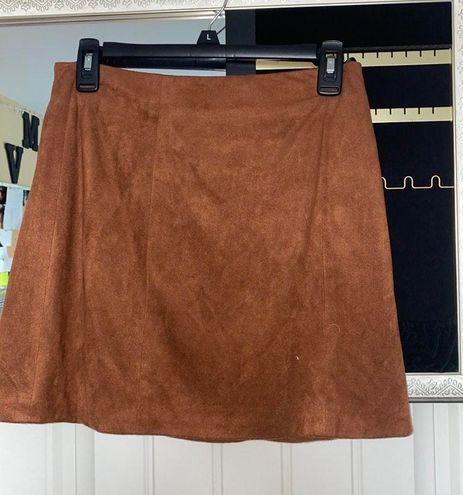 Forever 21 Brown Skirt
