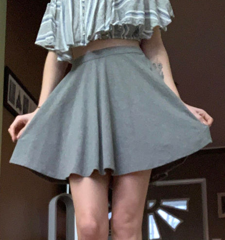 Abercrombie & Fitch Gray Skirt