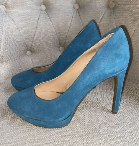 Gianni Bini Blue Heels