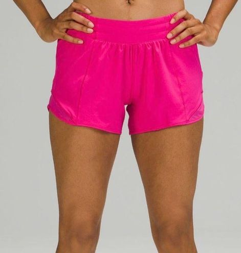 Lululemon  Sonic Pink Hotty Hot Shorts