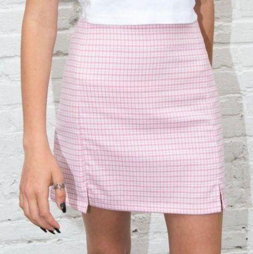 Brandy Melville Pink Cara Skirt