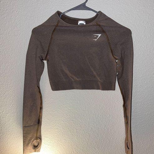 Gymshark Vital Seamless 2.0 Long Sleeve Crop Top