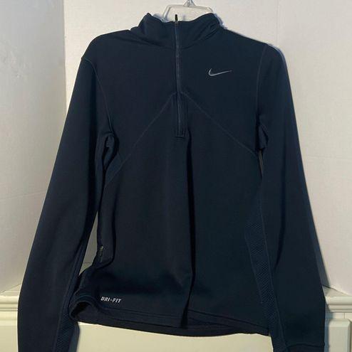 Nike Dri-fit Quarter Zip-Up