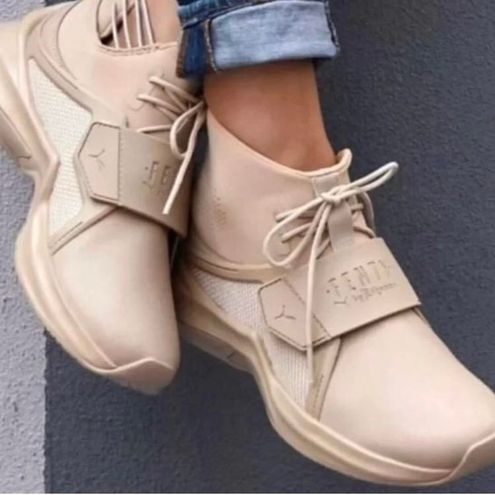 Puma FENTY x  Ignite Lace Up High Trainer Sneakers