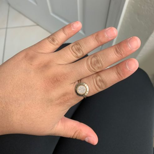 Pandora Two Tone Ring