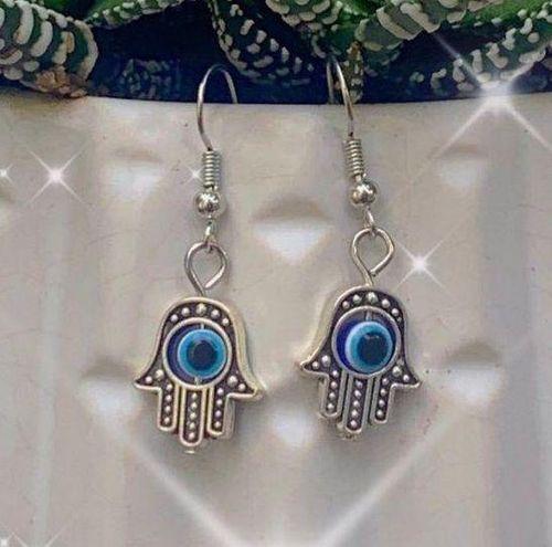Urban Outfitters hamza hand earrings