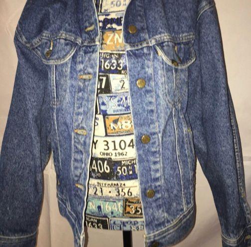 Lee Vintage 80's  Denim Jacket Large