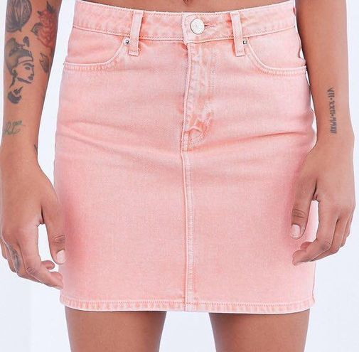 Urban Outfitters BDG Pink Mini Pencil Skirt