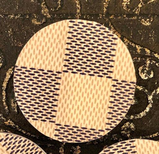 Damier Azur Upcycled Popsocket