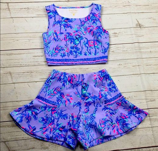 Lilly Pulitzer 2 piece outfit size XS.