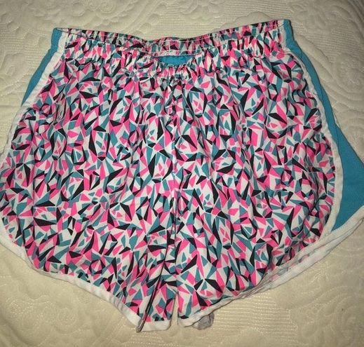 Nike Pink And Blue  Shorts (KIDS XL)