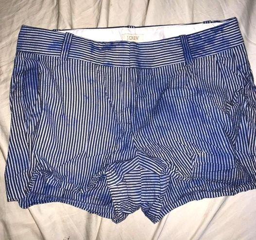 J.Crew  Seersucker Shorts