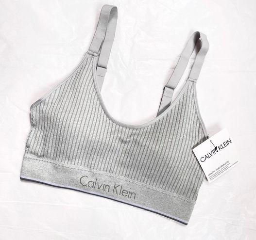 Calvin Klein Gray Bra