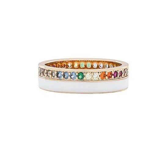 Revolve Elizabeth Stone Rainbow Ring
