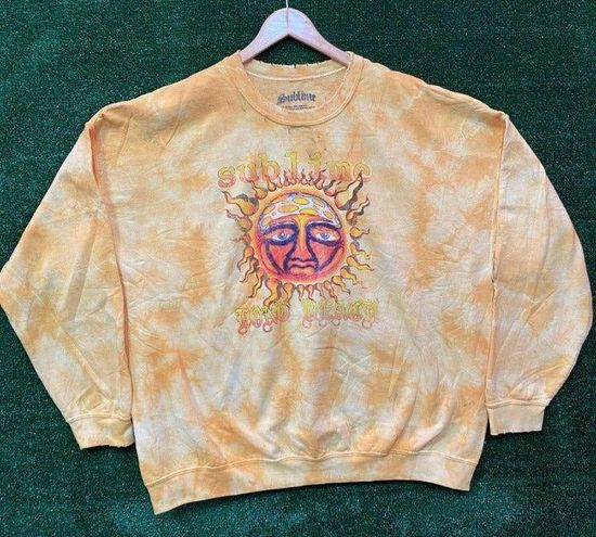 Urban Outfitters Sublime Oversized Tie dye Crewneck Sweater Size L/XL