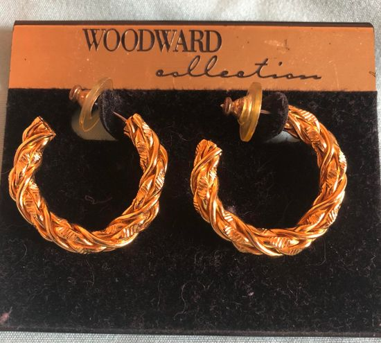 Woodward Collection Gold Earrings