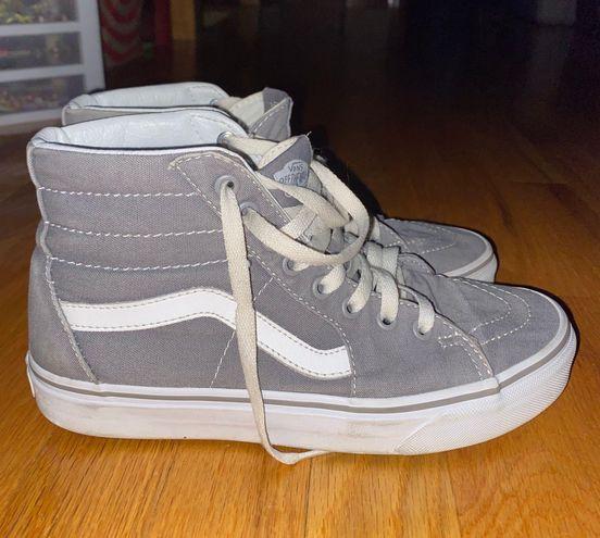 Vans Women's  Canvas Gray Shoes