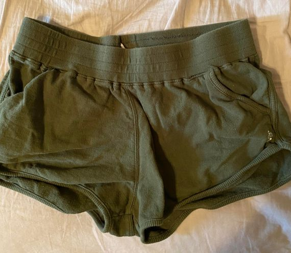 Free People movement shorts Army Green