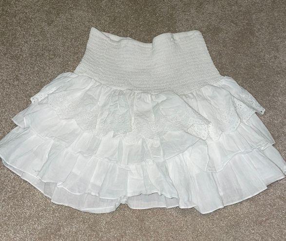 Princess Polly White Skirt