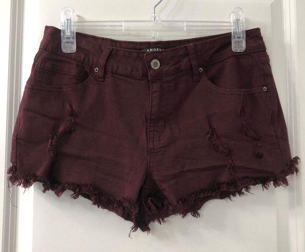Ross gently worn maroon shorts