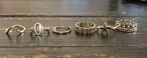 SheIn ring set