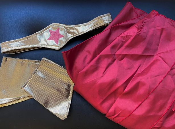 Worn Once Wonder Woman Costume Accessories