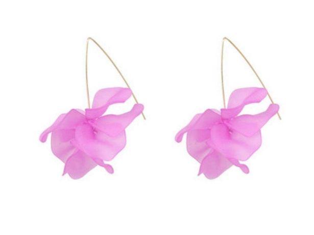 Beautiful Earth Boutique Bohemian Drop Flower Earrings