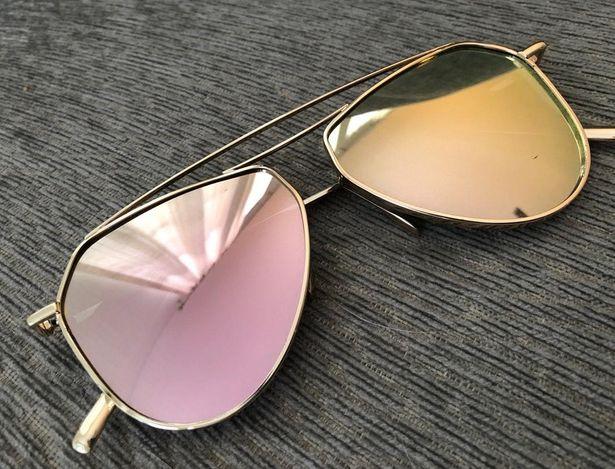 AE Pink Mirrored Aviator Sunnies