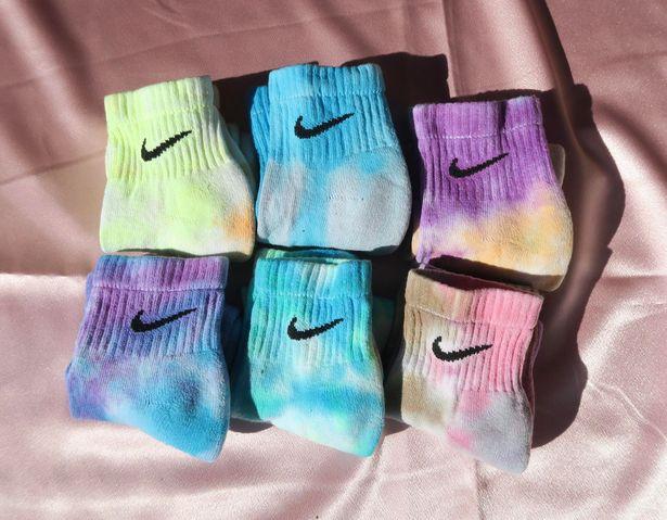 Nike Tie Dye  Socks