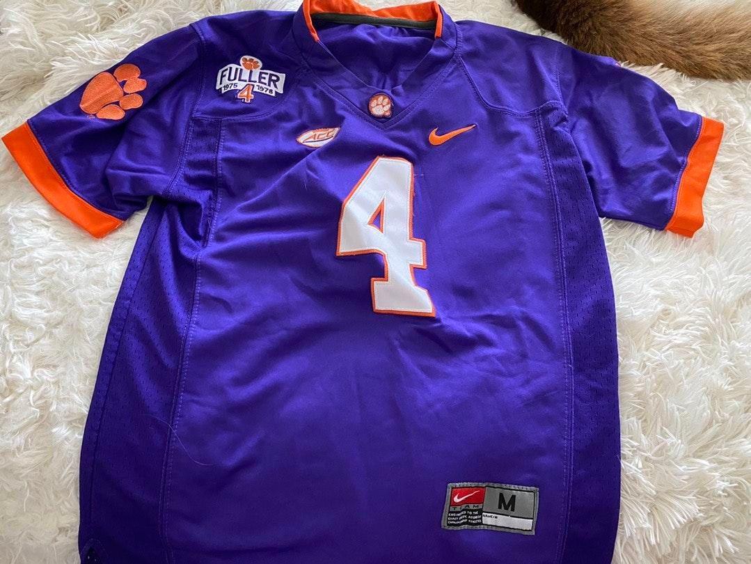 Nike Purple Deshaun Watson Jersey