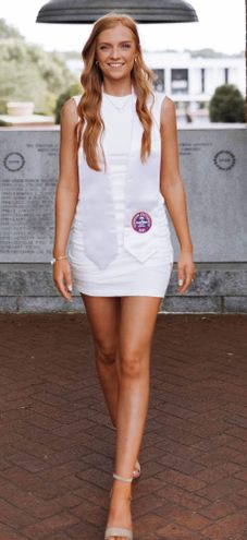 Princess Polly Dress White