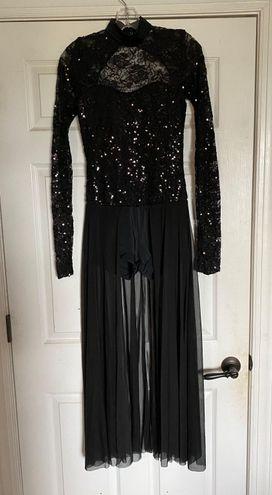 Black Dance Costume