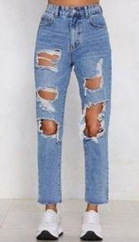 Nasty Gal Momokrom High Rise Jeans 4
