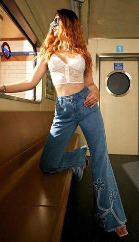 SheIn hippie Flare Jeans