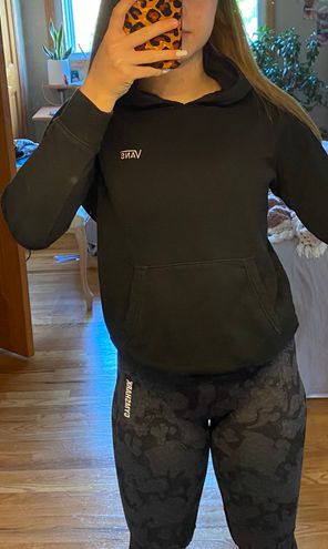 PacSun black thrasher sweatshirt