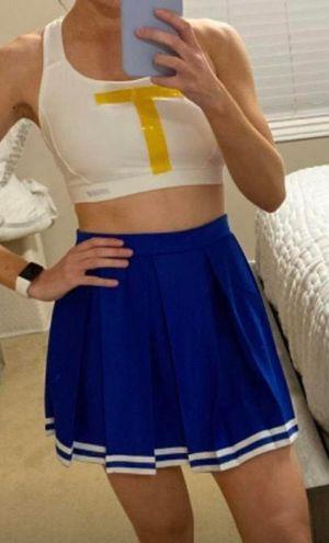 Red Tailgate Cheerleader Skirt