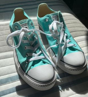 Converse Tiffany Blue All Star Size 6 - $30 (40% Off Retail) - From ...