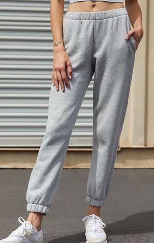 Brandy Melville John Galt grey Rosa sweatpants