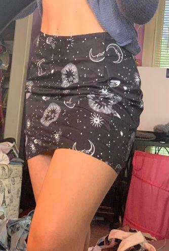 SheIn stars & moon skirt!