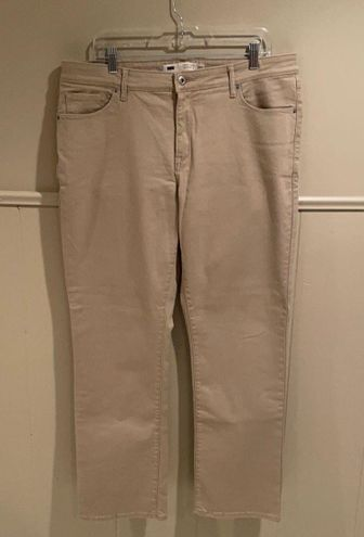 Levi's Tan Perfect Shaping 512 Straight Leg Jean