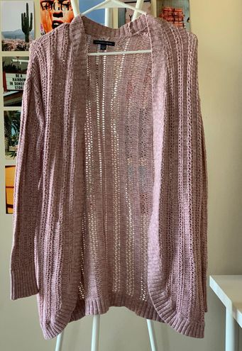 American Eagle Outfitters Pink Cardigan