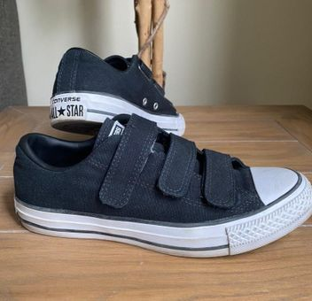Converse Velcro Black Size 7 - $22 (63% Off Retail) - From Taylor