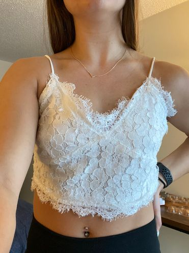 SheIn Lace Crop Top