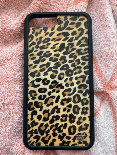 Wild Flower  Leopard Phone Case