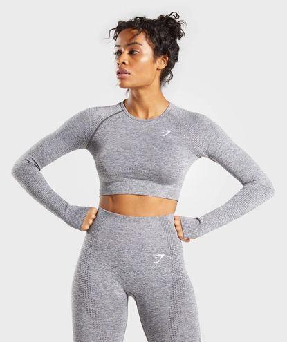 Gymshark Vital Seamless Long Sleeve Crop Top